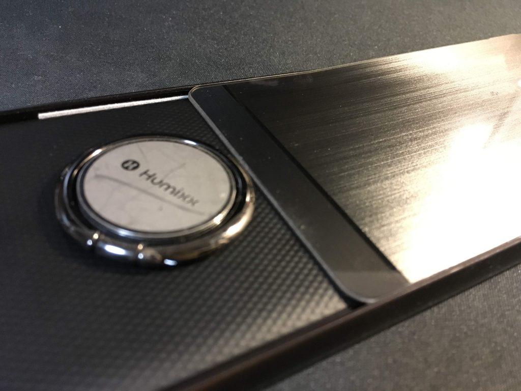 blackberry - 【レビュー】BlackBerry Key2にケースは要らない!?おすすめはバンカーリング